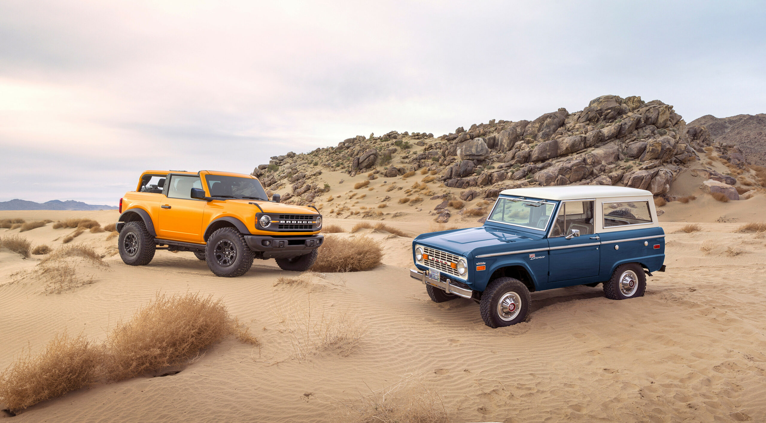 History 2022 Ford Bronco