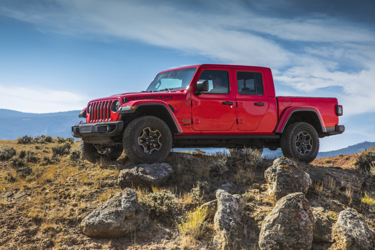 Wallpaper 2022 Jeep Gladiator Overall Length
