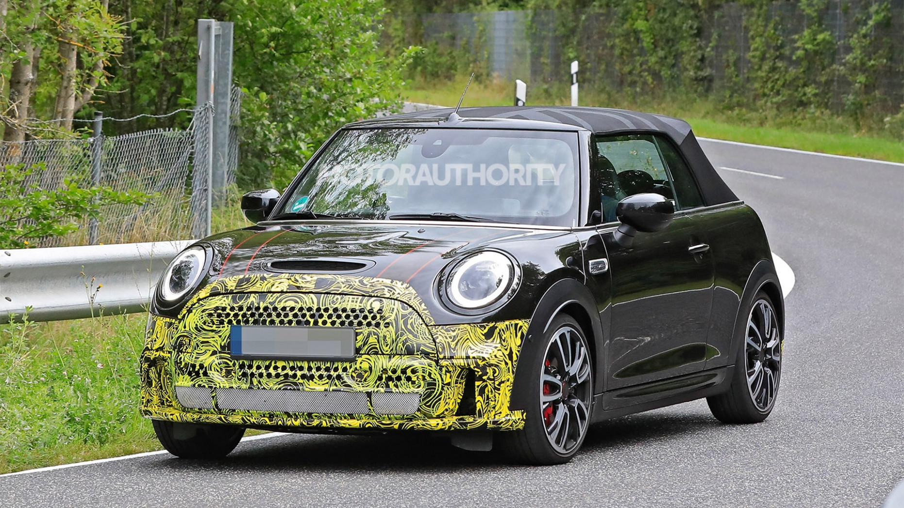 Release 2022 Spy Shots Mini Countryman