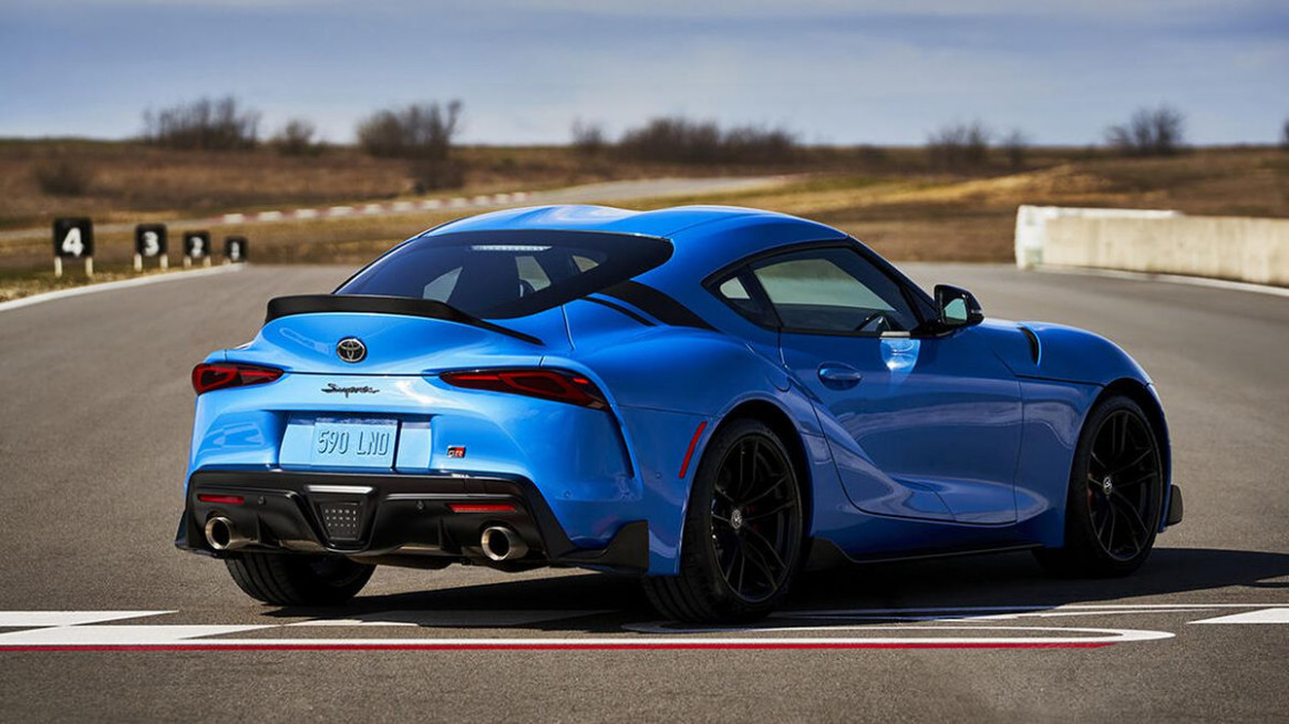 Exterior Pictures Of The 2022 Toyota Supra