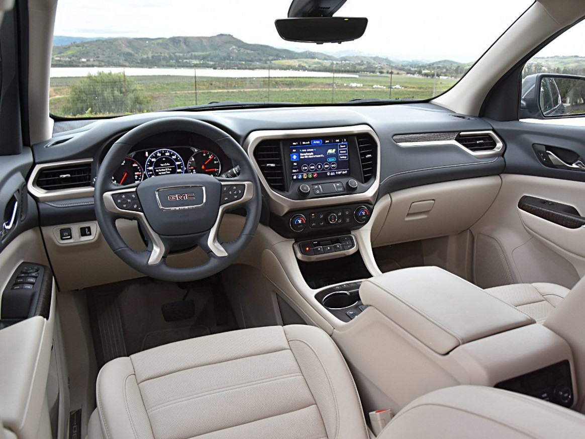 Configurations 2022 Gmc Acadia Mpg