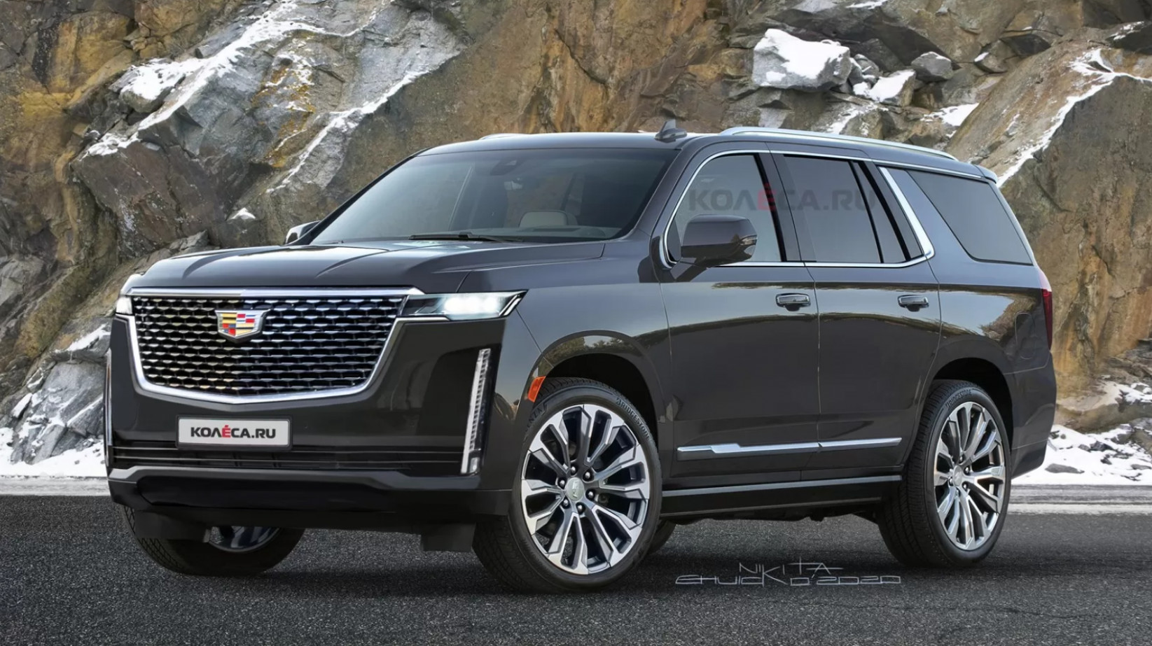 Performance Cadillac Suv Escalade 2022