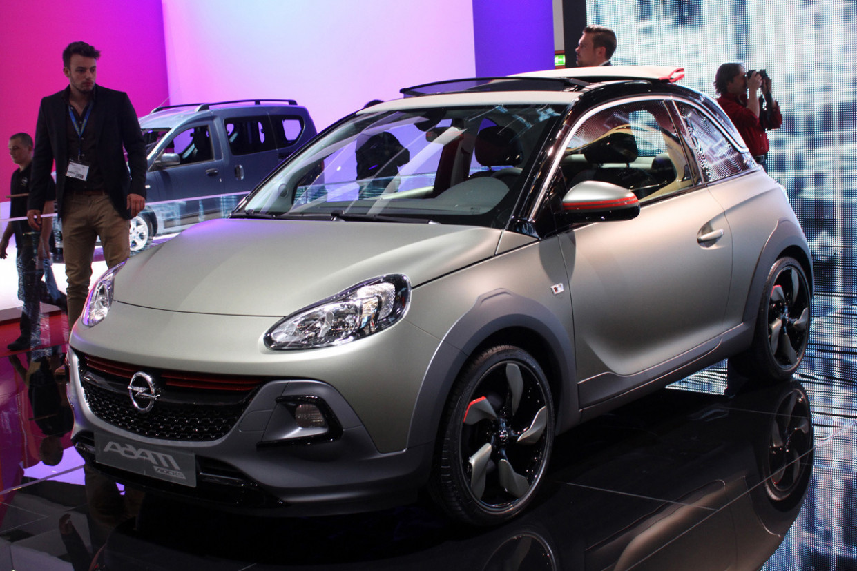First Drive Opel Adam 2022