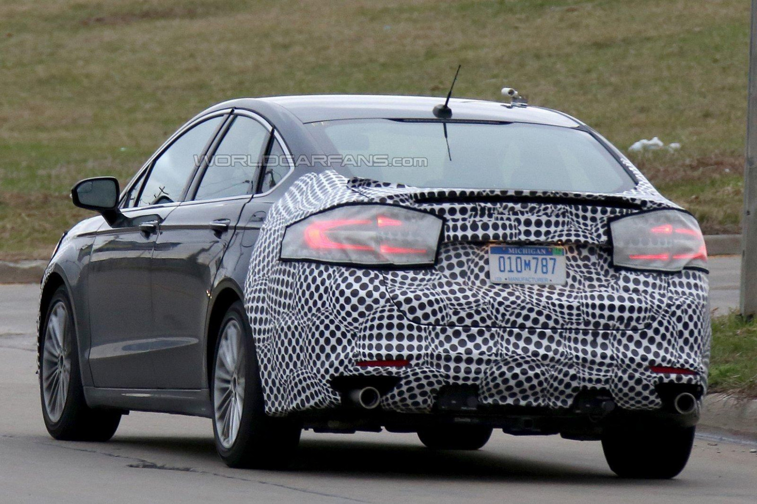 Pictures Spy Shots Ford Fusion