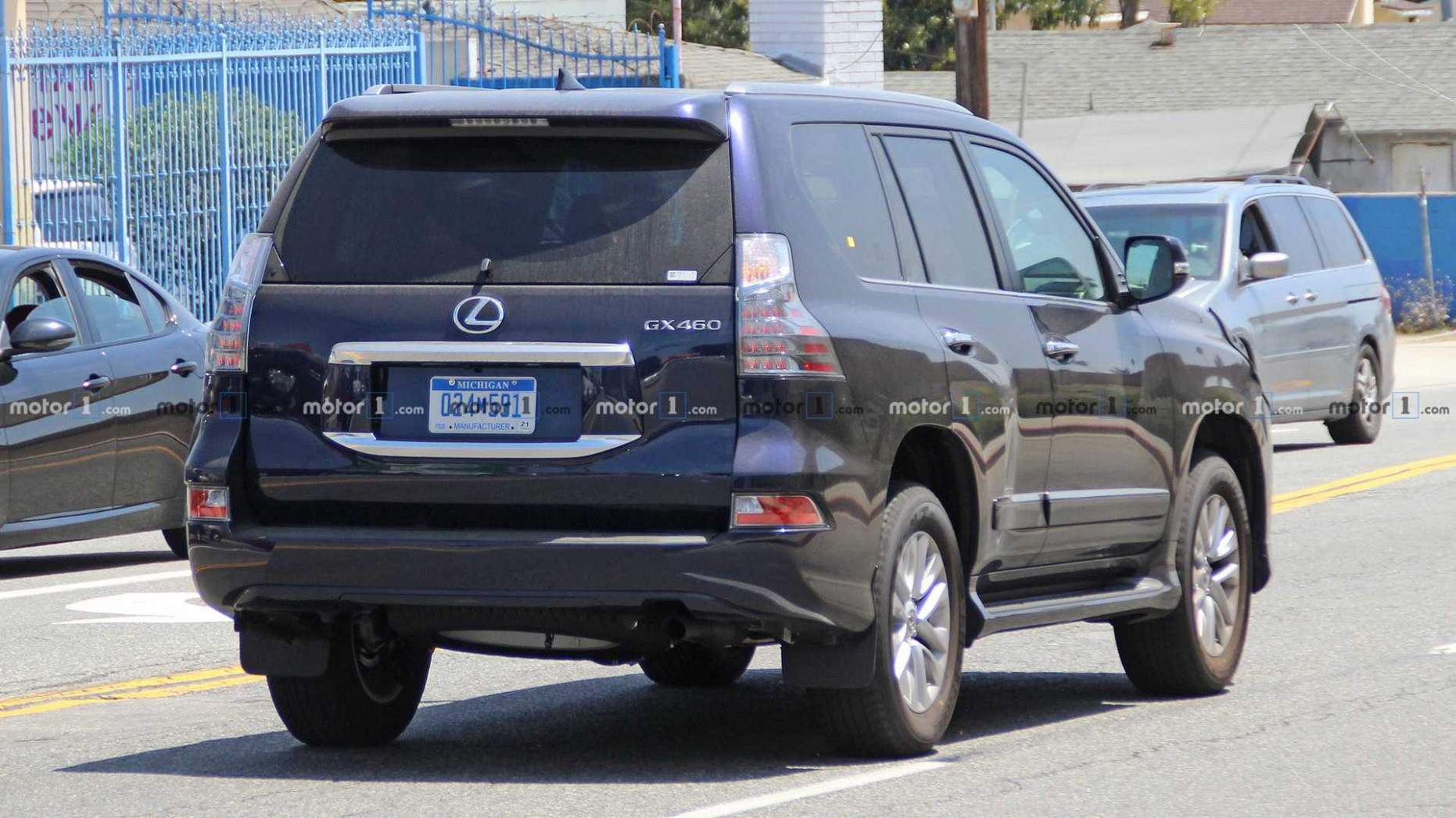 Release Date and Concept 2022 Lexus Gx Spy Photos