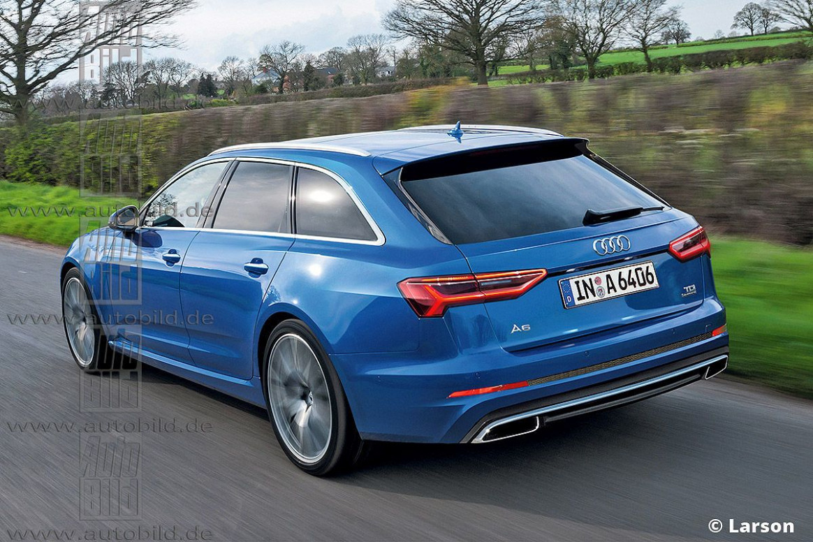 Wallpaper Audi Facelift A4 2022