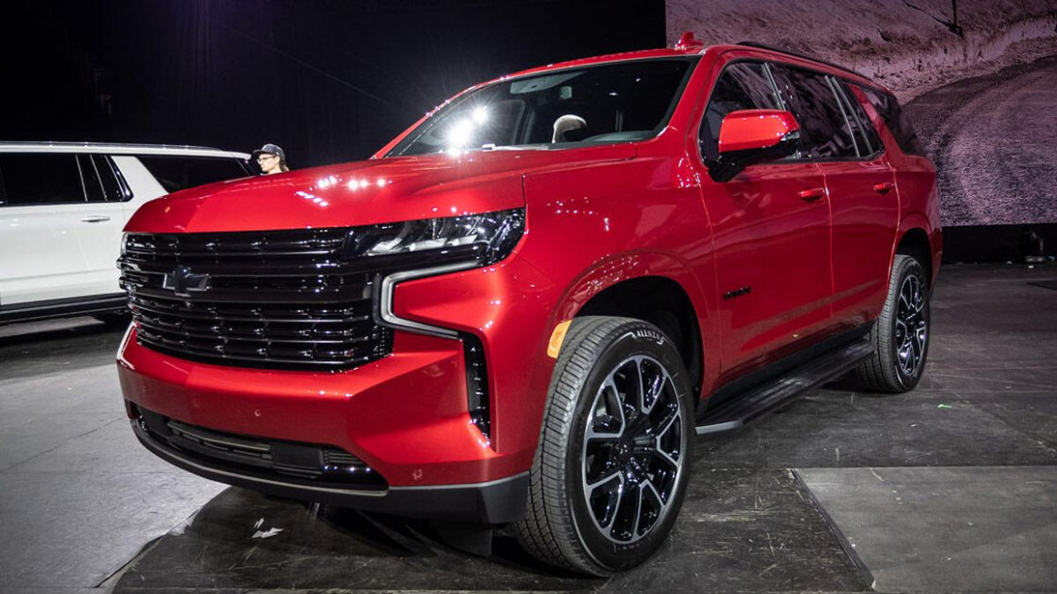 Concept 2022 Chevy Tahoe