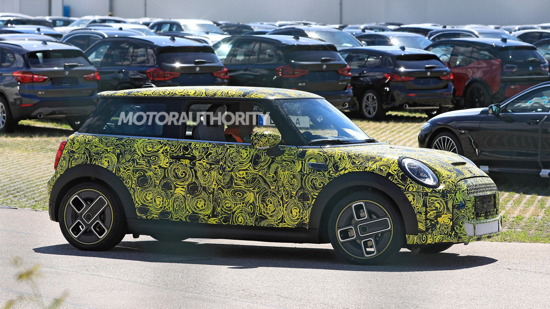 Interior 2022 Spy Shots Mini Countryman