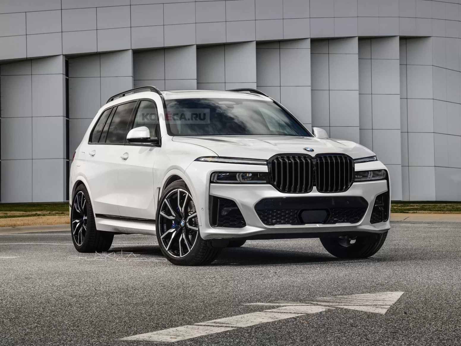 Concept and Review 2022 BMW X7 Suv Series