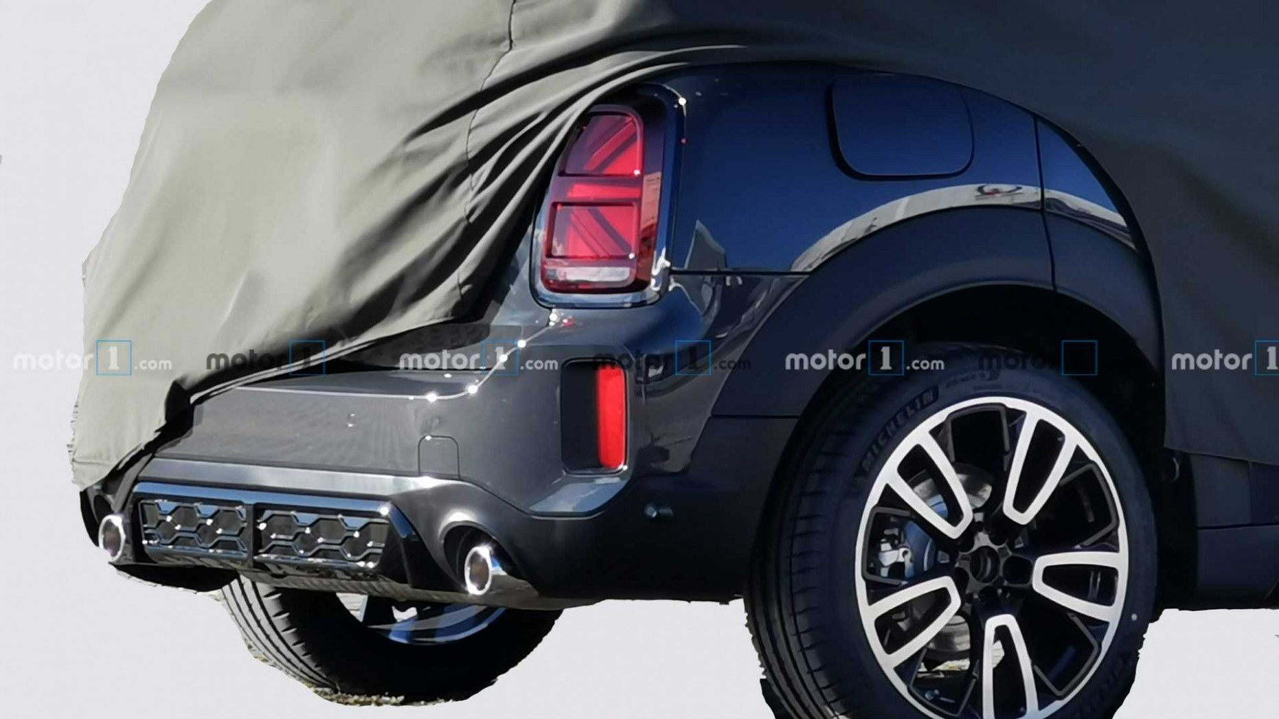 Redesign and Concept Spy Shots Mini Countryman