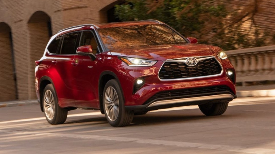 Model Toyota Highlander 2022