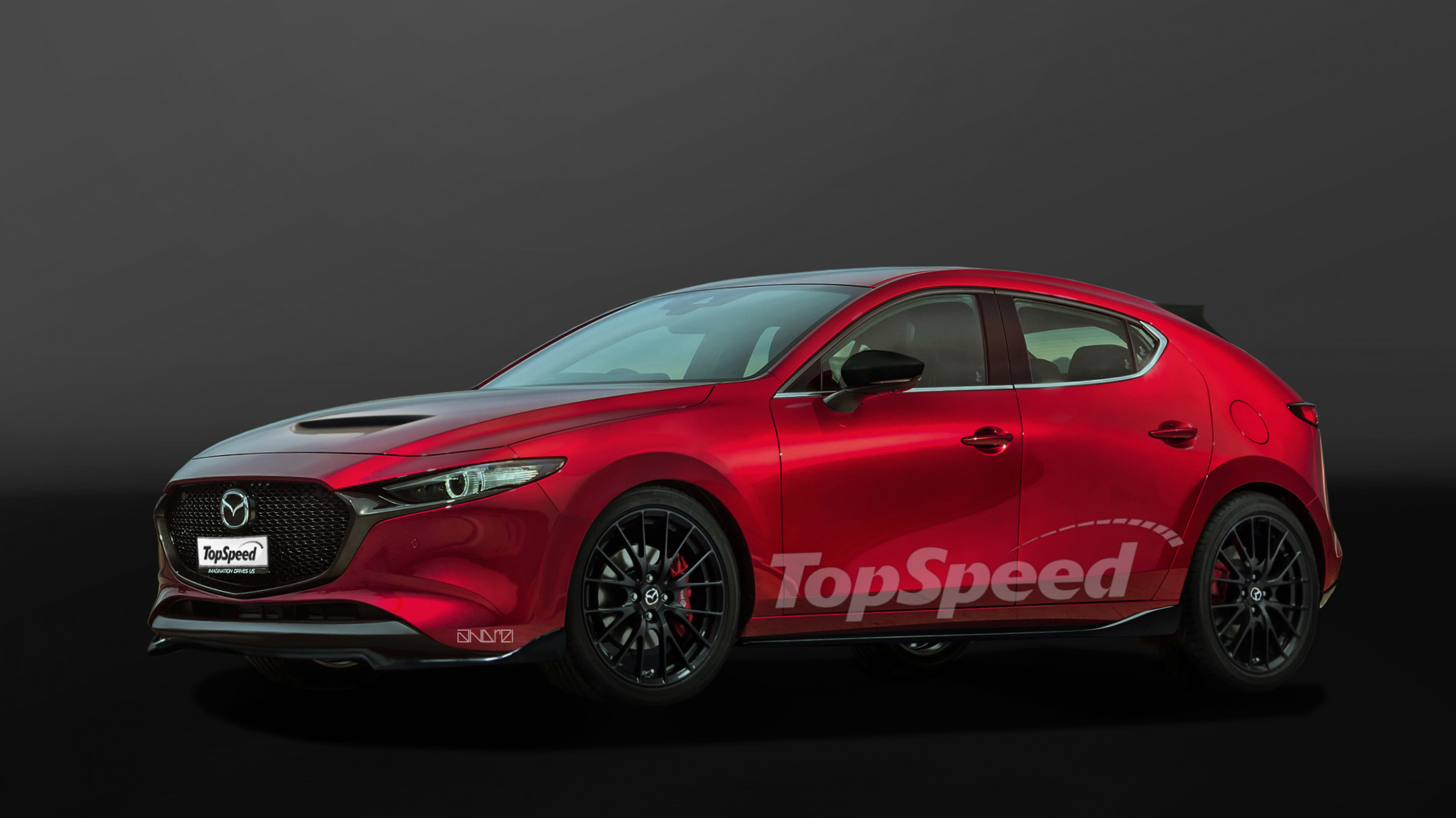 Redesign and Concept 2022 Mazdaspeed 3
