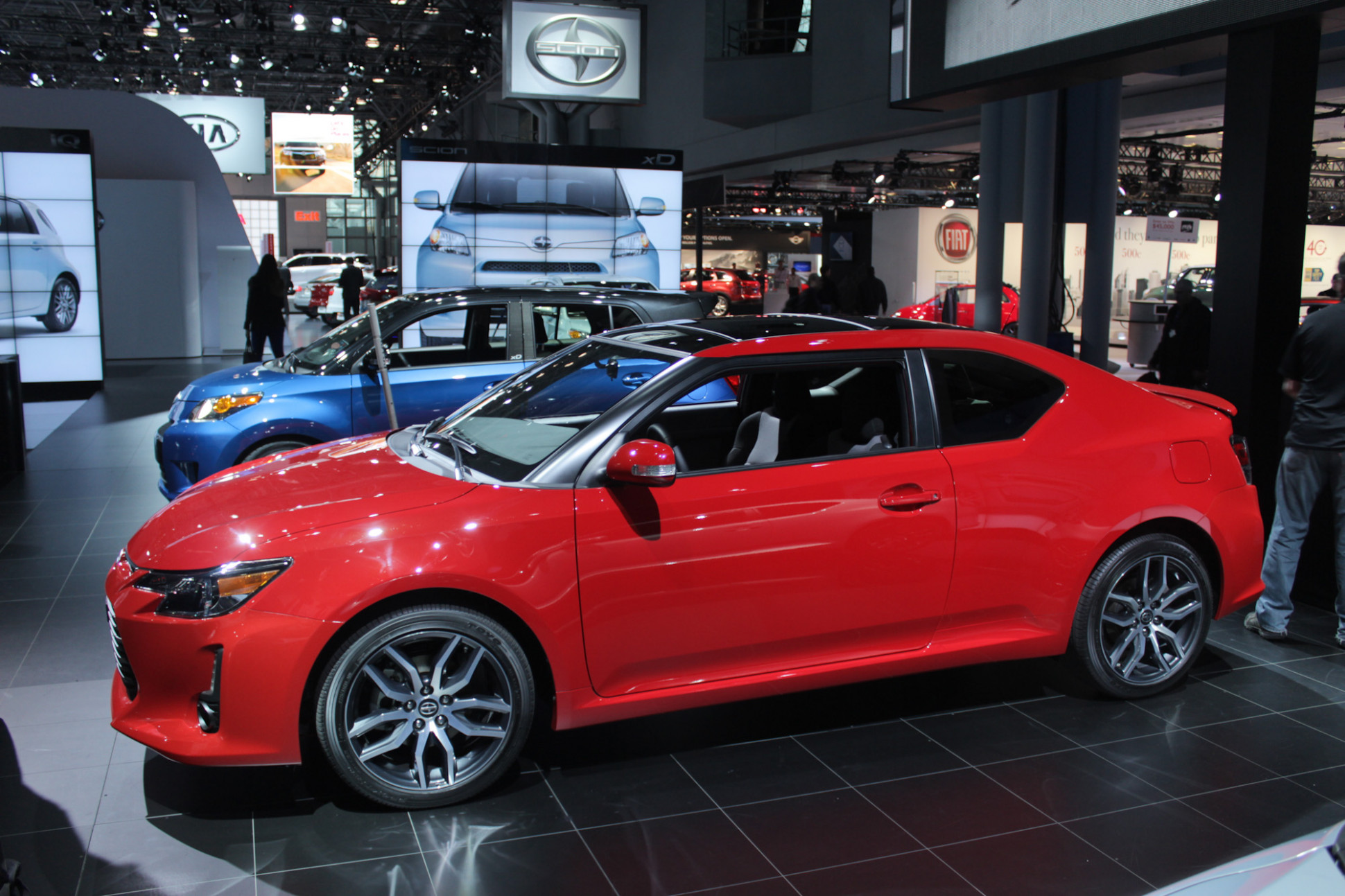 Specs and Review 2022 Scion TC