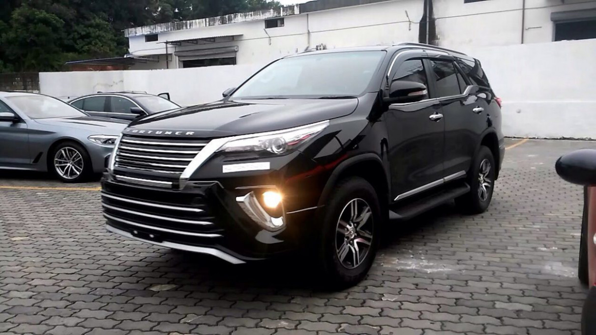 Concept Toyota New Fortuner 2022