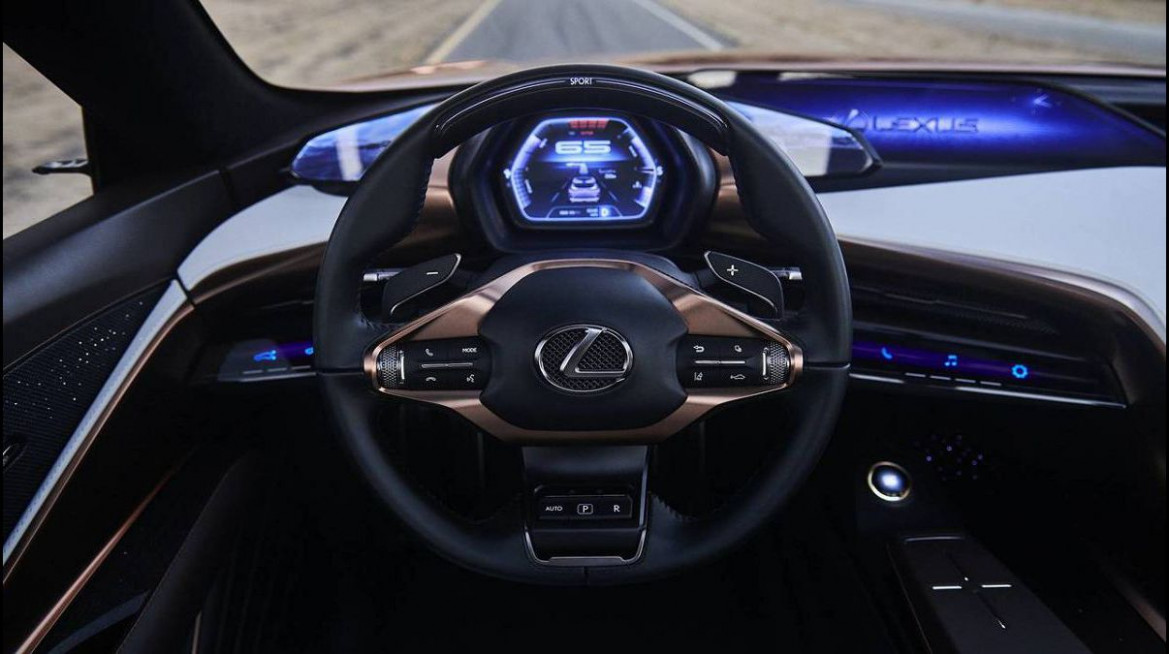 Redesign and Review 2022 Lexus LF-LC