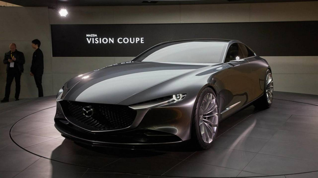 Spesification Mazda Vision Coupe 2022