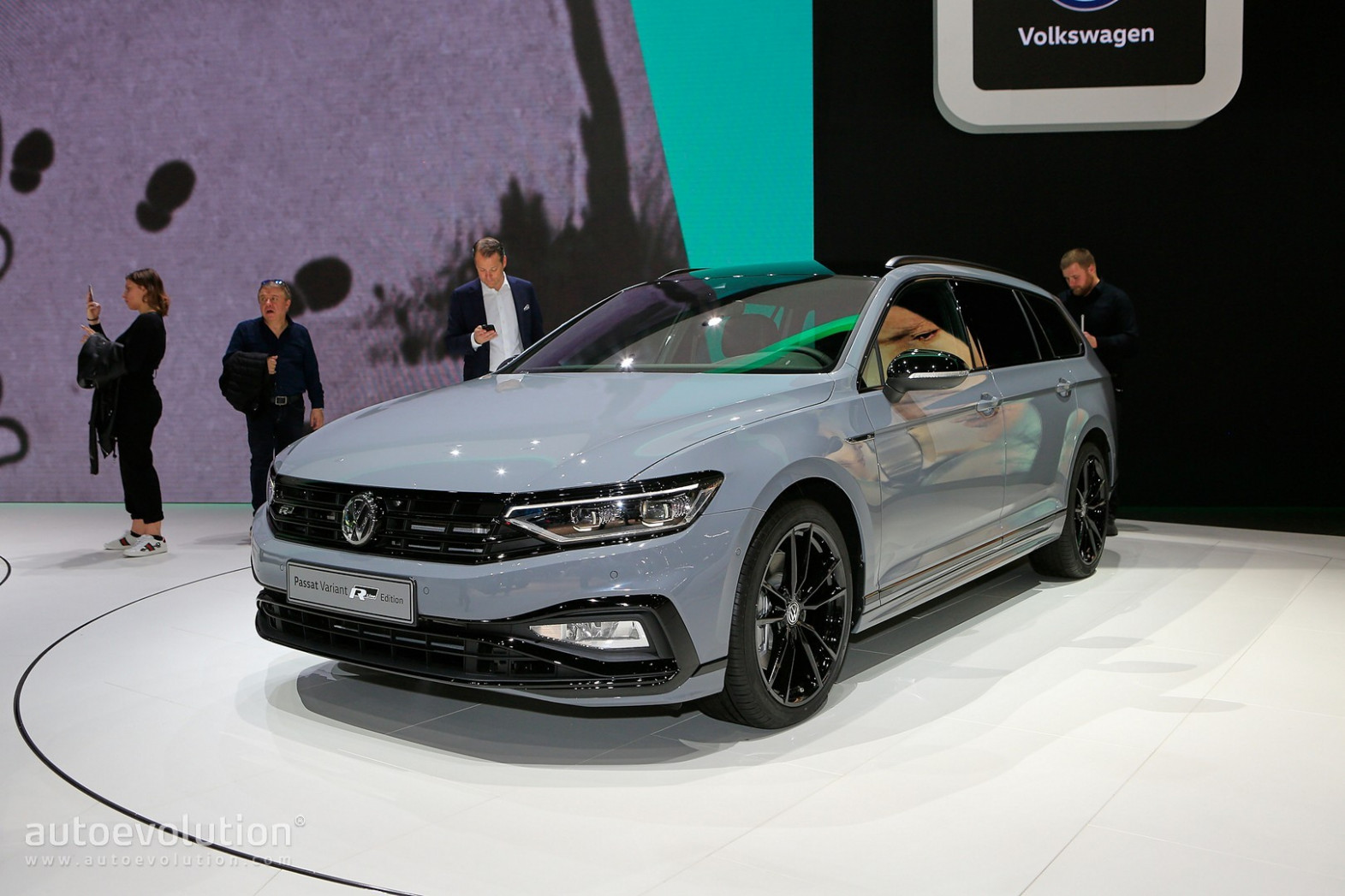Spy Shoot Volkswagen Passat 2022 Europe