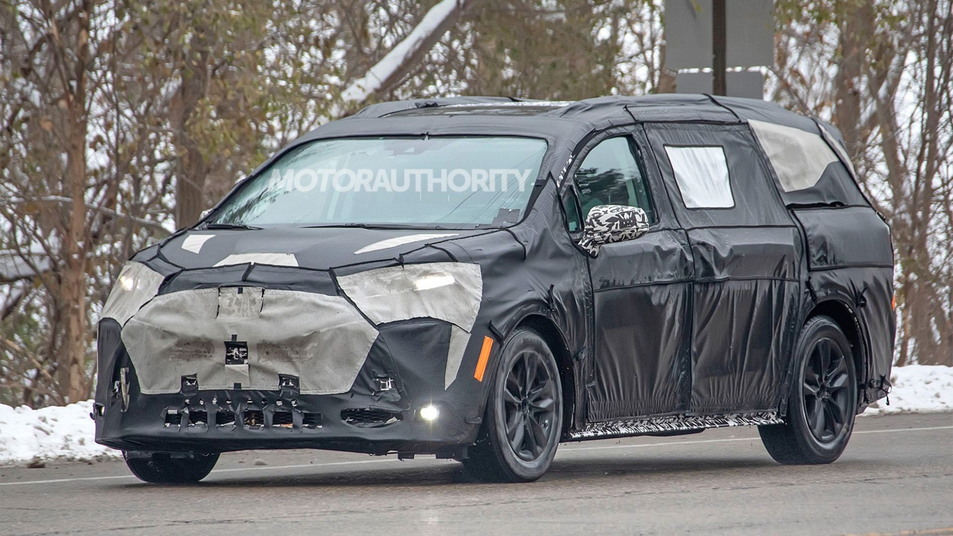 Picture 2022 New Toyota Avensis Spy Shots