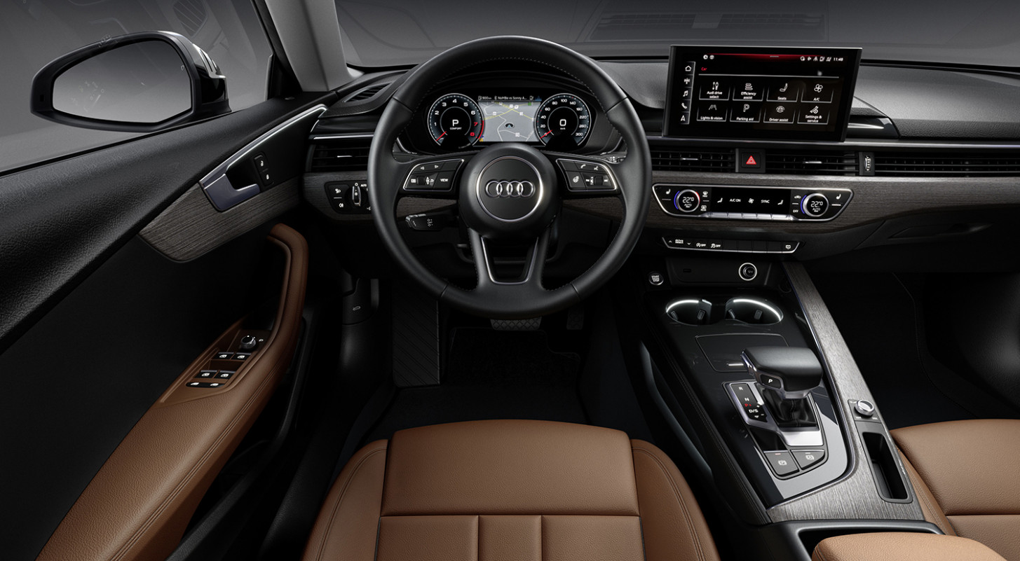 Speed Test Audi A5 2022 Interior
