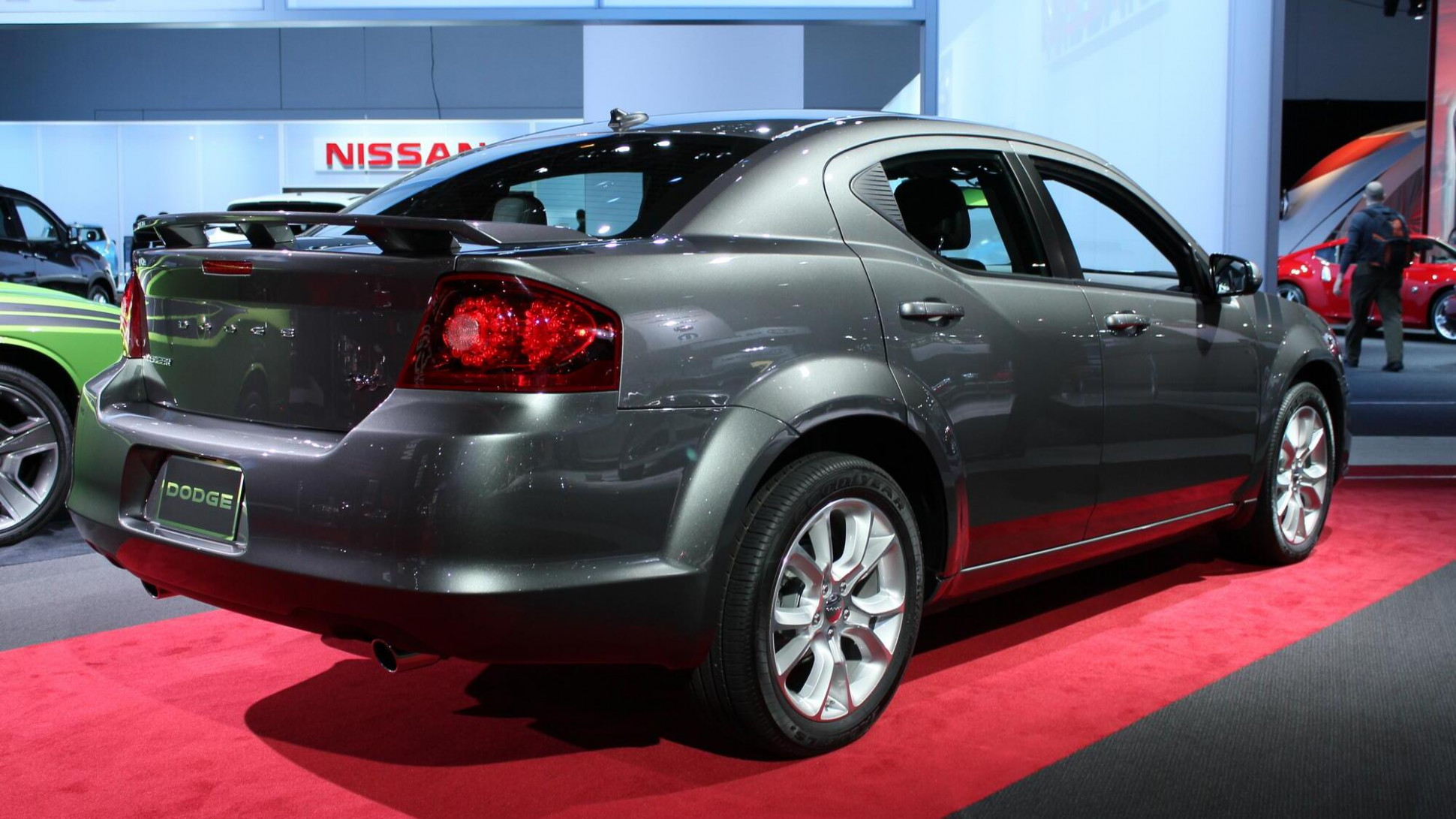 Research New Dodge Avenger 2022