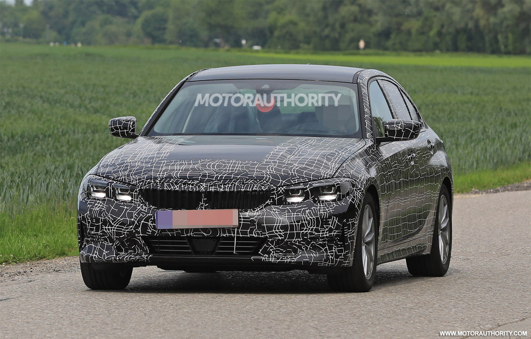 First Drive Spy Shots BMW 3 Series