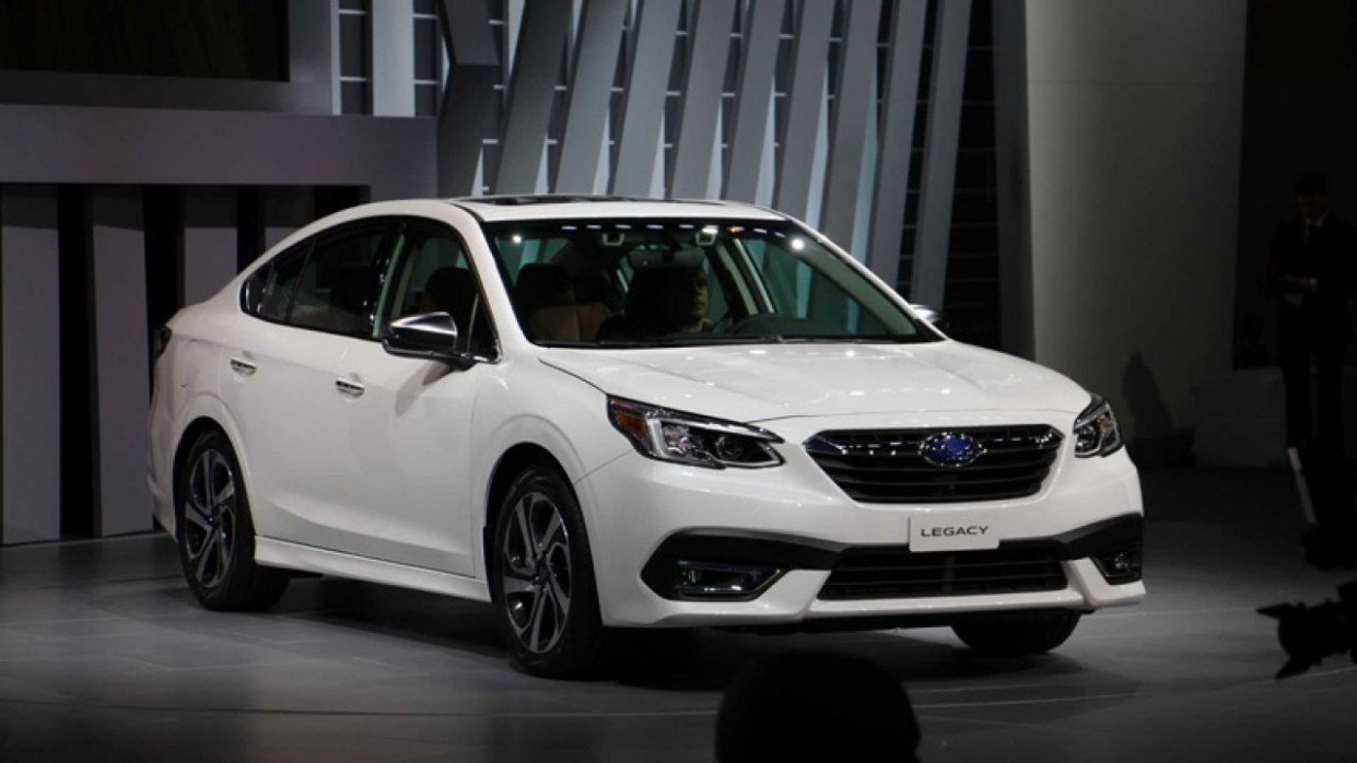 Pictures When Will The 2022 Subaru Legacy Go On Sale