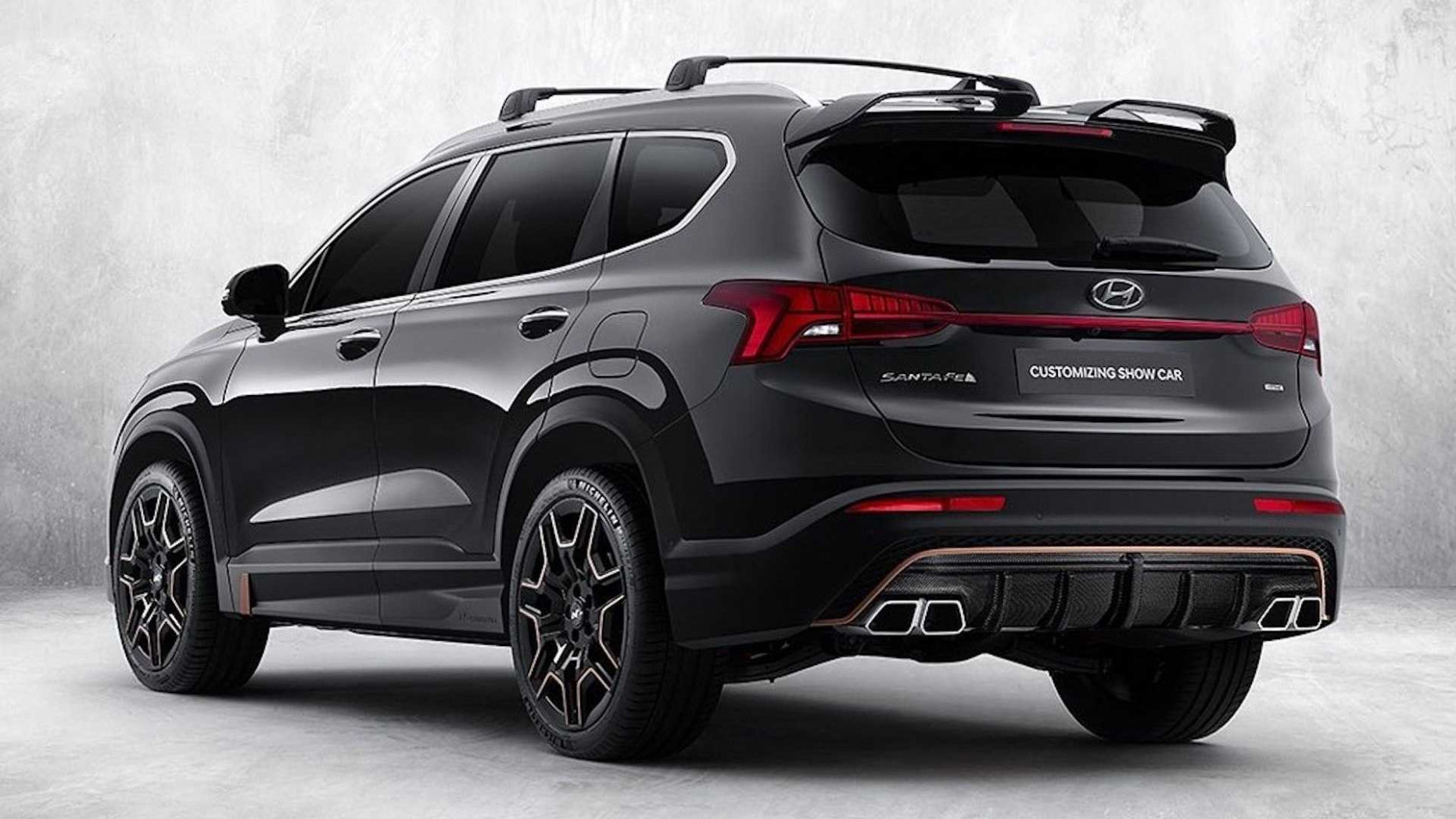 Performance and New Engine 2022 Hyundai Santa Fe N