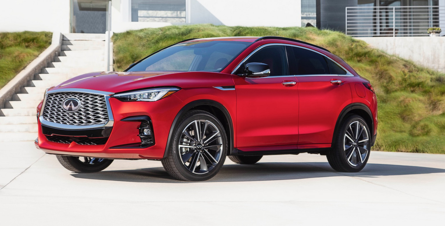 Concept and Review 2022 Infiniti Qx50 Sport