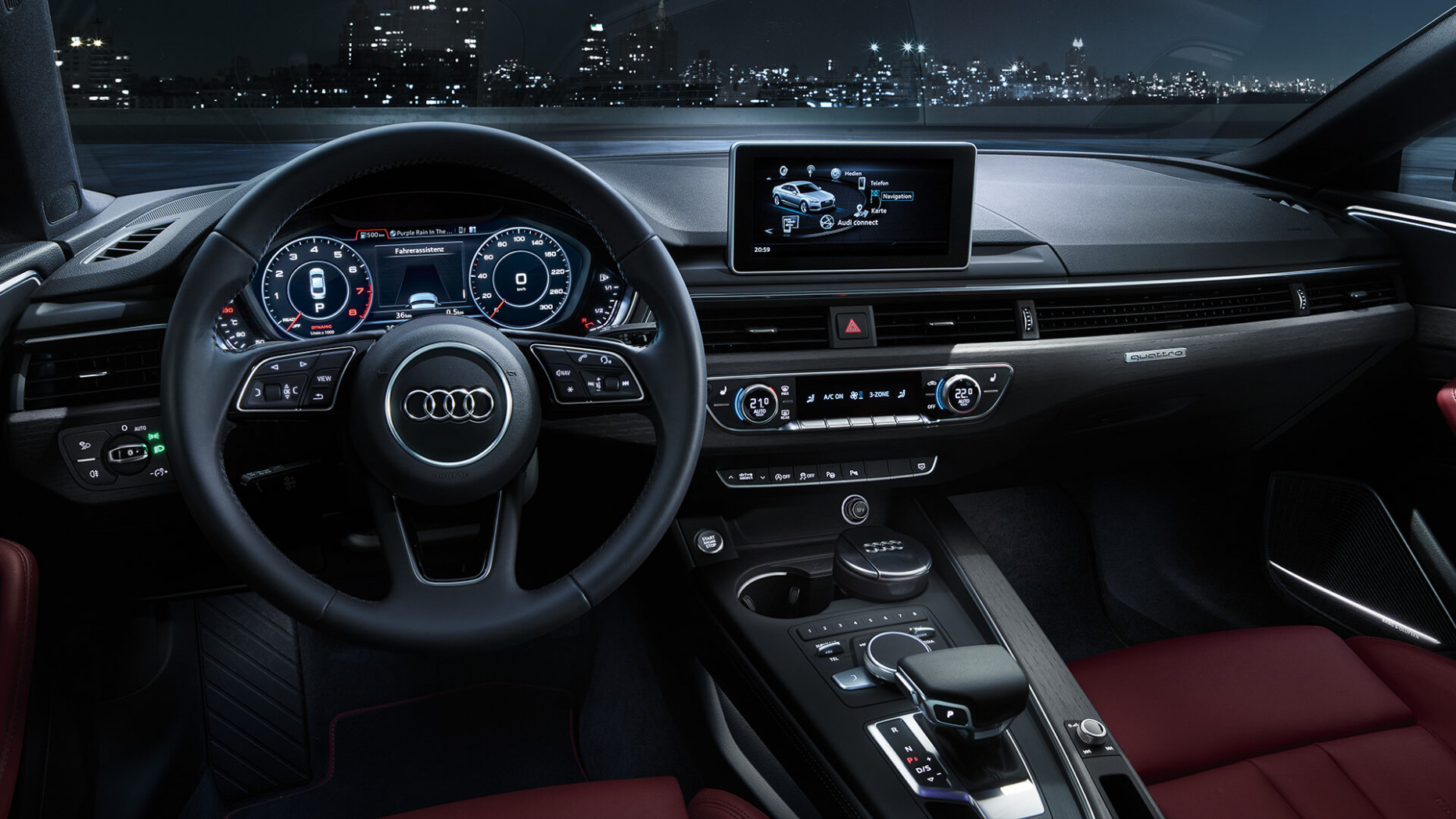 Concept and Review Audi A5 2022 Interior
