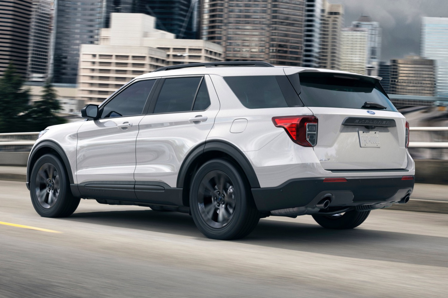 Spy Shoot 2022 Ford Explorer