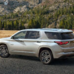 Wallpaper Chevrolet Traverse 2022