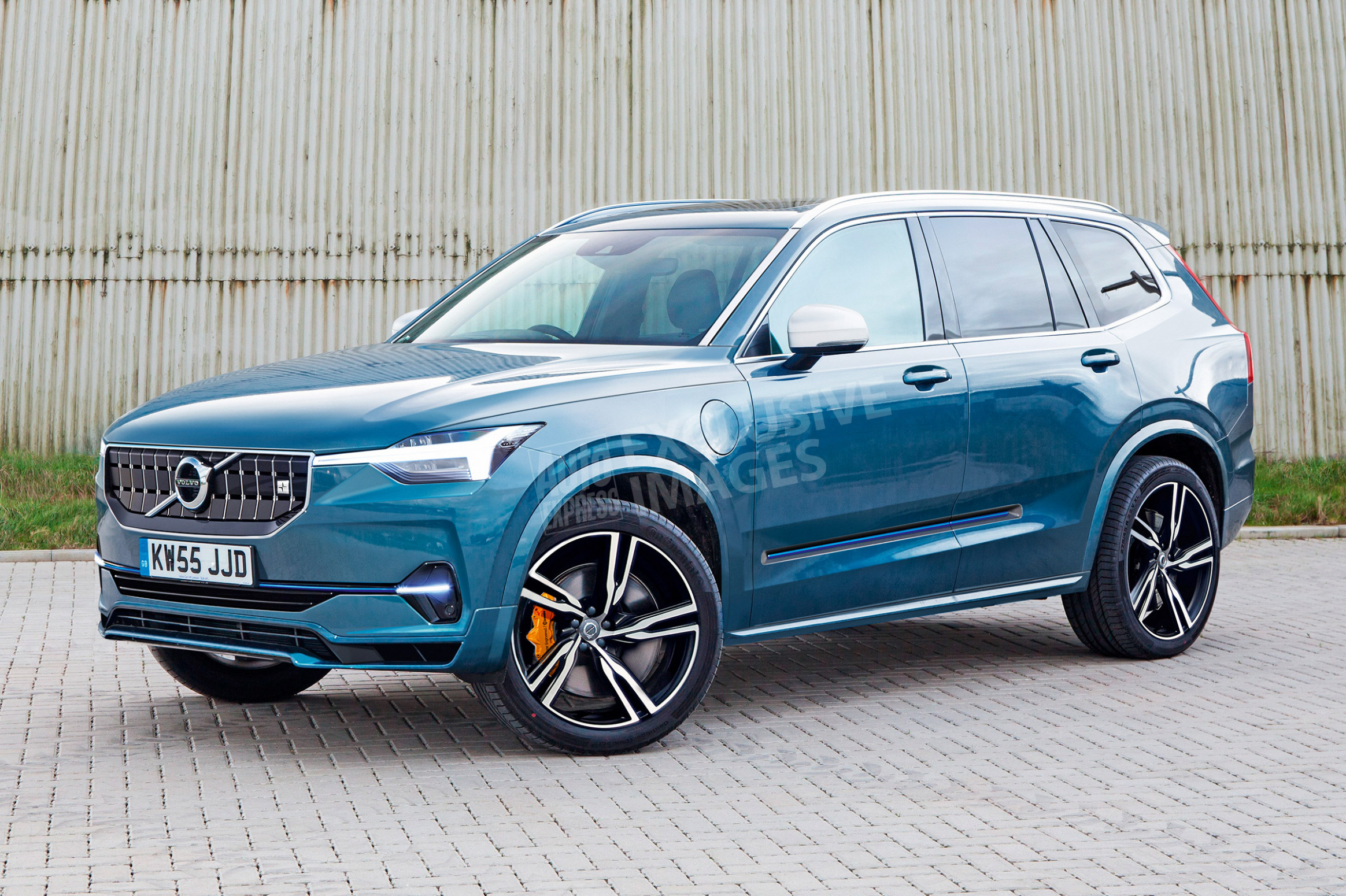 Concept and Review Volvo Hybrid 2022